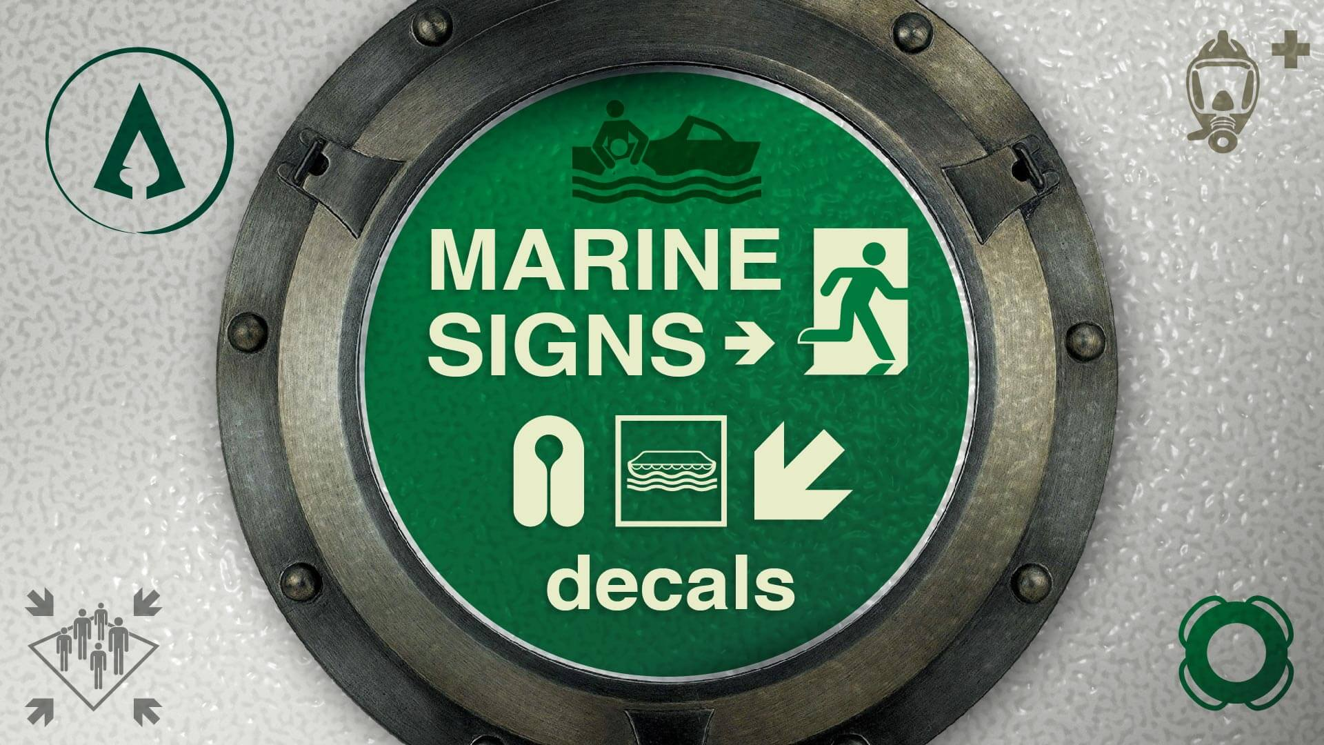 Hotgates' Marine Signs Decals
