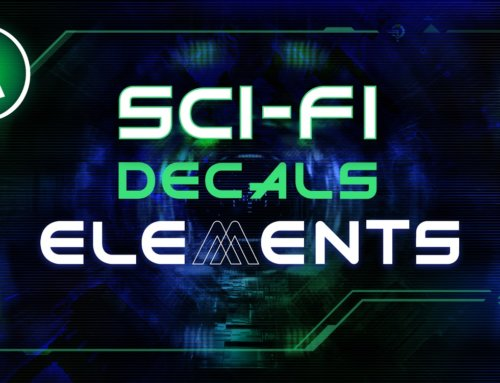 New Release! – HG: Sci-Fi Decals Elements